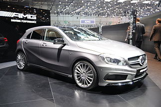 Un Mercedes Benz modern