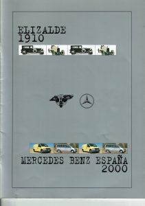 ELIZALDE 1910 - MERCEDES BENZ ESPAÑA 2000