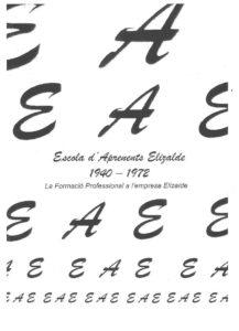 Escola d'Aprenents Elizalde 1940-1972